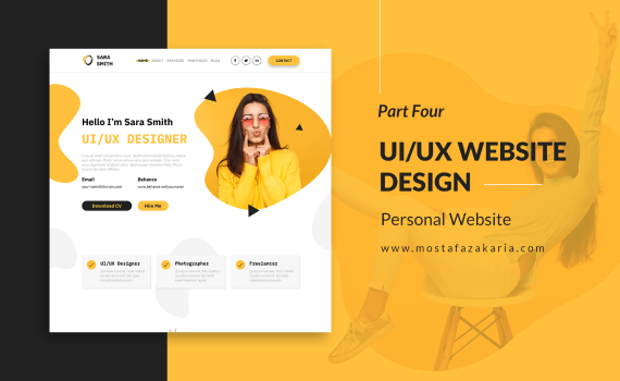 How To: Design UI/UX for Personal Website with Figma - Part 4