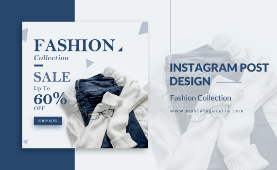 How To: Design Instagram Post for Fashion Collection with Photoshop