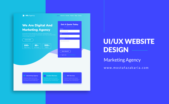 How To: Design UI/UX for Marketing Agency Website with Figma